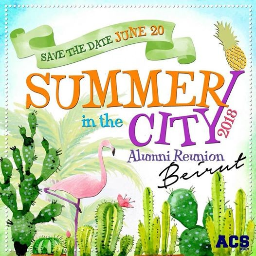 Summer in the City 2018 -Beirut Reunion