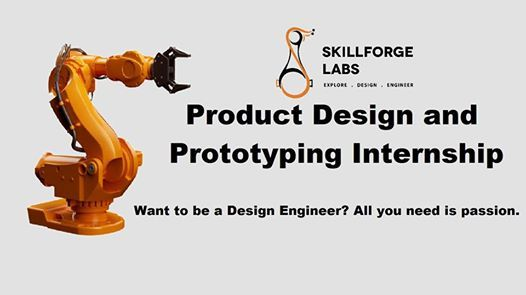 Product Design and Prototyping Internship