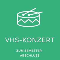 VHS-Konzert zum Semesterabschluss