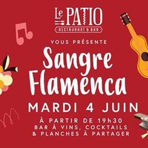 Sangre Flamenca au restaurant LE PATIO