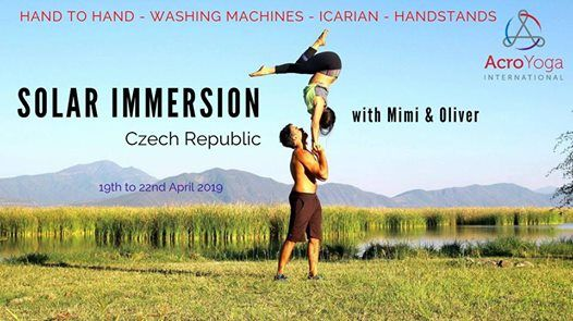 Czech Brno AcroYoga Solar Immersion Mimi & Oliver