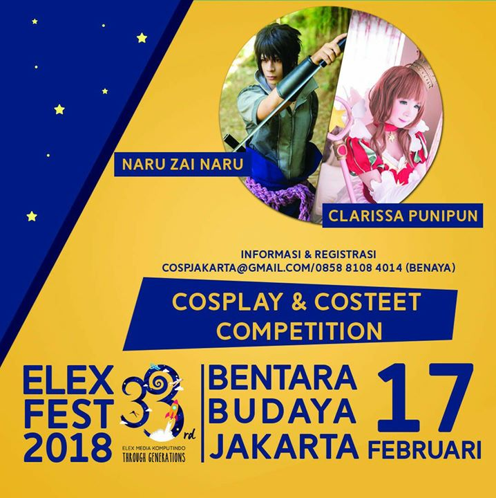 Elex Fest 2018 Cosplay And Cosstreet Competition