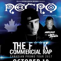 Necro With MadChild Live in Winnipeg at The Pyramid Cabaret
