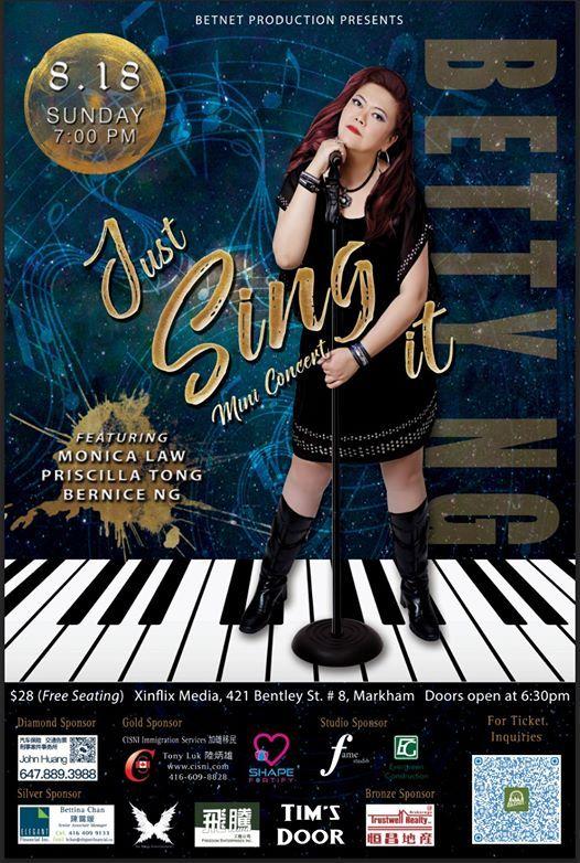 8.18 Just Sing It Mini Concert