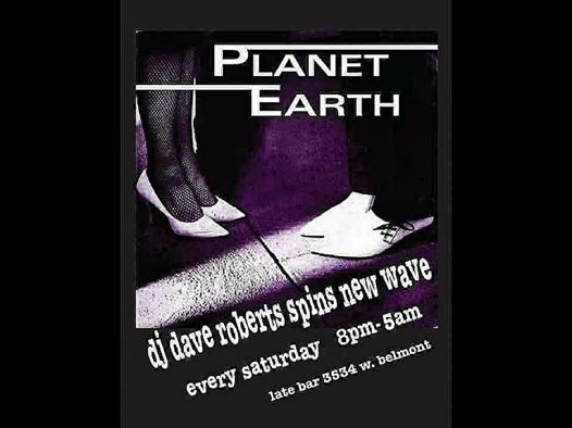 DJ Dave Roberts Planet Earth New Wave Music Video Dance Party