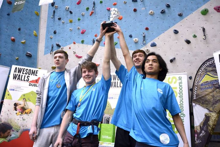 Irish Schools Climbing Competition 2018
