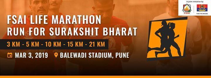 FSAI Life Marathon -Pune-Run for Surakshit Bharat
