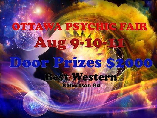 Ottawa Psychic Fair - August 9-10