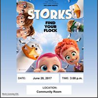 Wednesday Movie Matinee- Storks