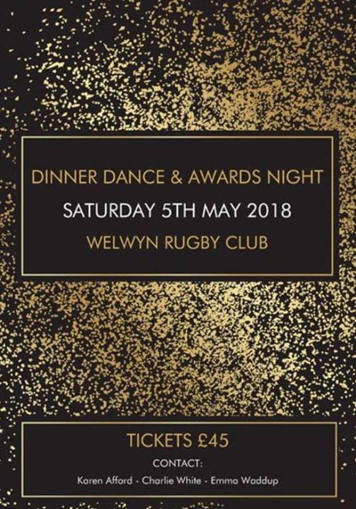 Sheffield Music Festival Garden Walk: Dinner Dance And Awards Night At Welwyn Rugby Football
