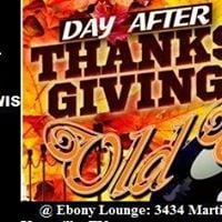 Day After Thanksgiving Old Skool Party