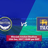 Pakhtoon Team vs Team Sri Lankan Cricket