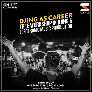 Free DJ  EMP Workshop at Soundroom - October