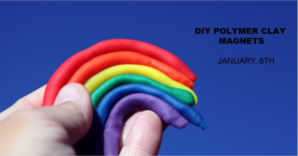 DIY Polymer Clay Magnets