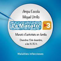 LAmpa Escola Miquel Utrillo amb la Marat de TV3