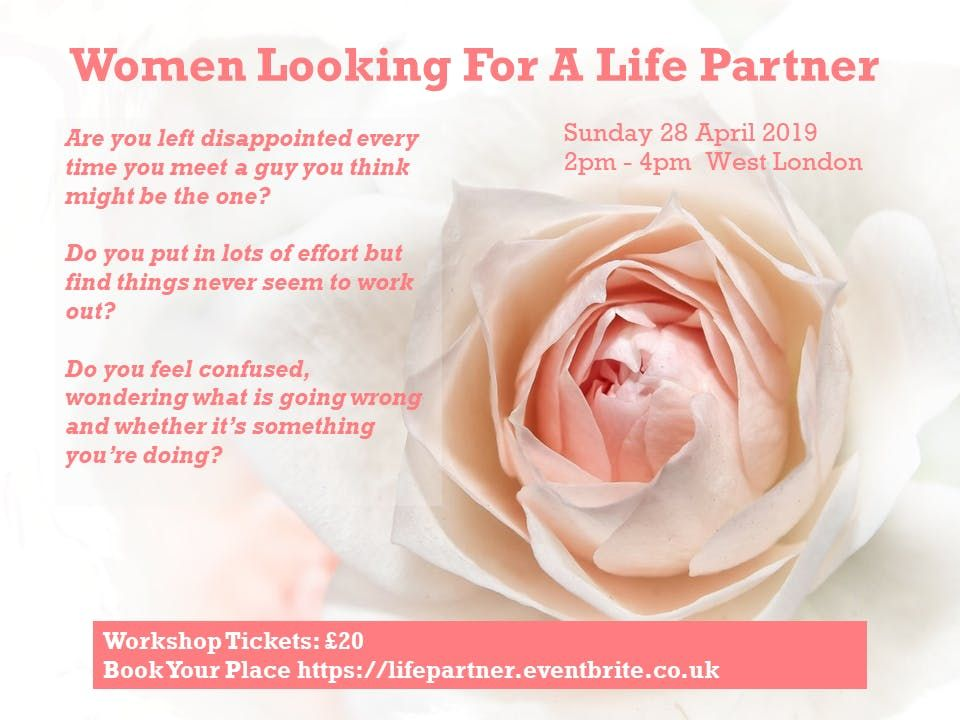 Women Looking For A Life Partner at The William Hobbayne Centre, London