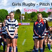 Girls Rugby - Pitch Up and Play