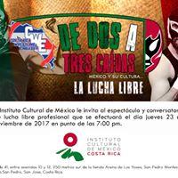 Espectculo y conversatorio de lucha libre mexicana