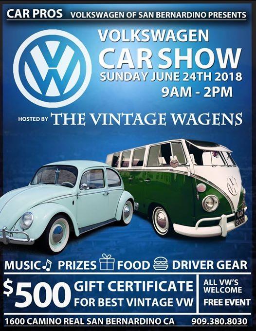 Volkswagen Car Show California