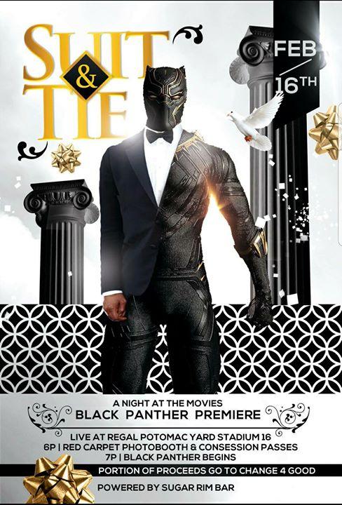 Black Panther Private Screening At Regal Cinemas Potomac Yard 16