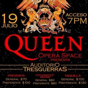 Homenaje a Queen 3.G (Auditorio Tresguerras) Celaya Gto.