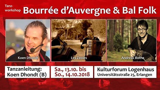 Bourre dAuvergne mit Koen Dhondt & Bal Folk mit Les Zeoles