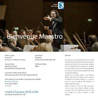 Bienvenue Maestro - Avant-premire