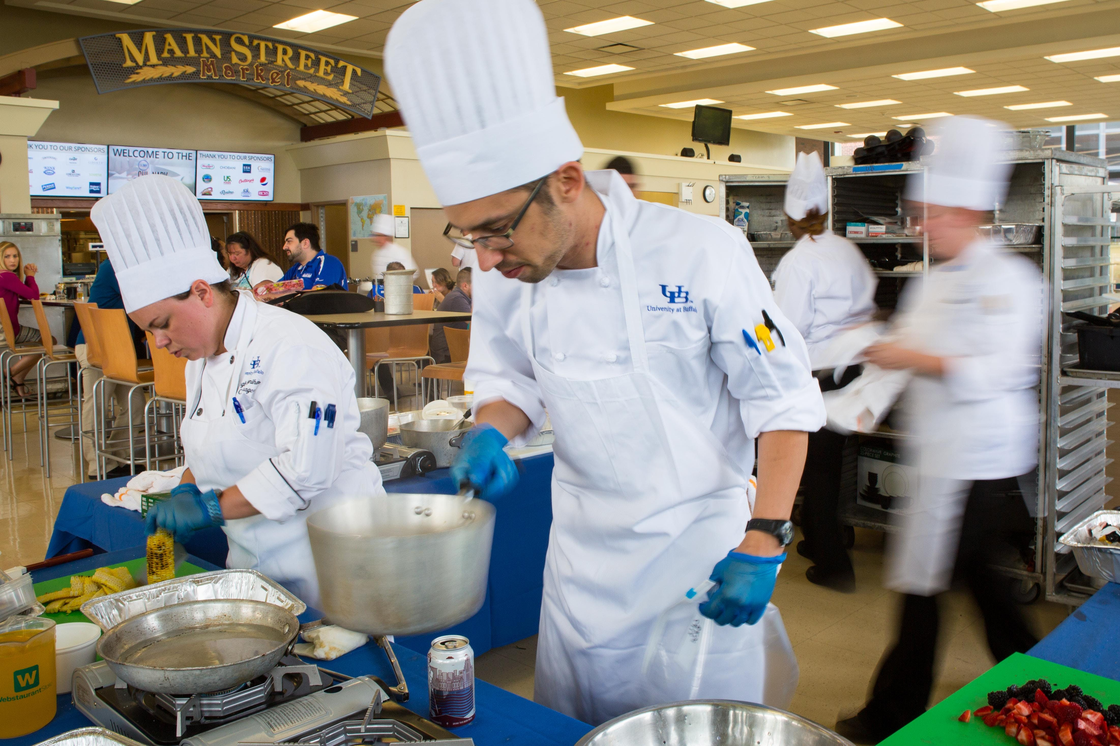 UB Campus Dining Job Fair and Open Interview Days at Buffalo