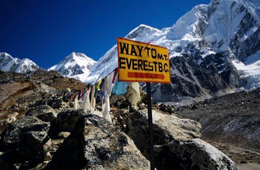 This is Fitness Climb Everest.