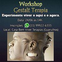 Workshop Gestalt Terapia - Experimente viver o Aqui e o Agora