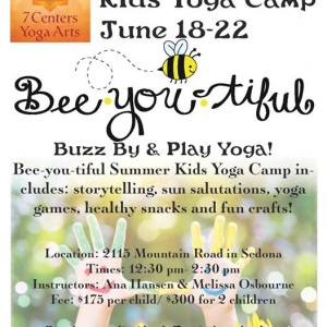 Summer Kids Yoga Camp