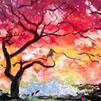 Come Paint Under the Red Tree at Firehouse Restaurant