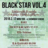BLACK STAR VOL.4 Yoshiyuki Kuroda 64years BirthdayParty