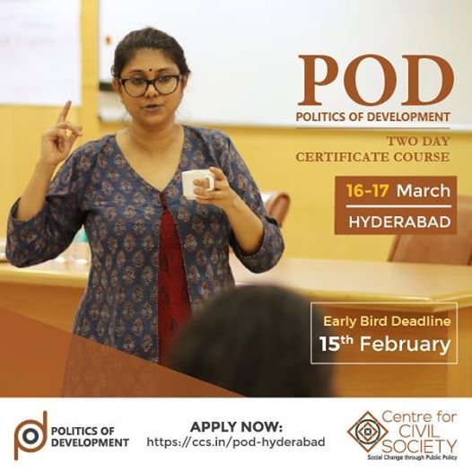 Politics of Development - Hyderabad