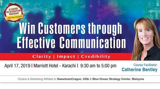 Win Customers through Effective Communication -Catherine Bentley