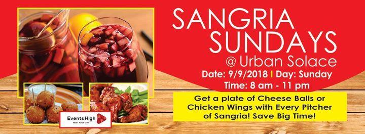 Sangria Sundays at Urban Solace