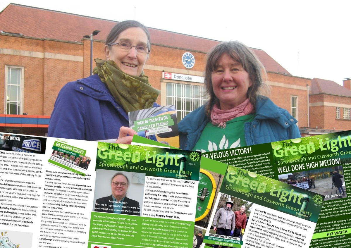 Help deliver the Green light newsletter issue 5.