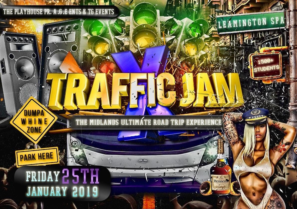 Traffic Jam X 2019 - The Ultimate Road Trip Experience