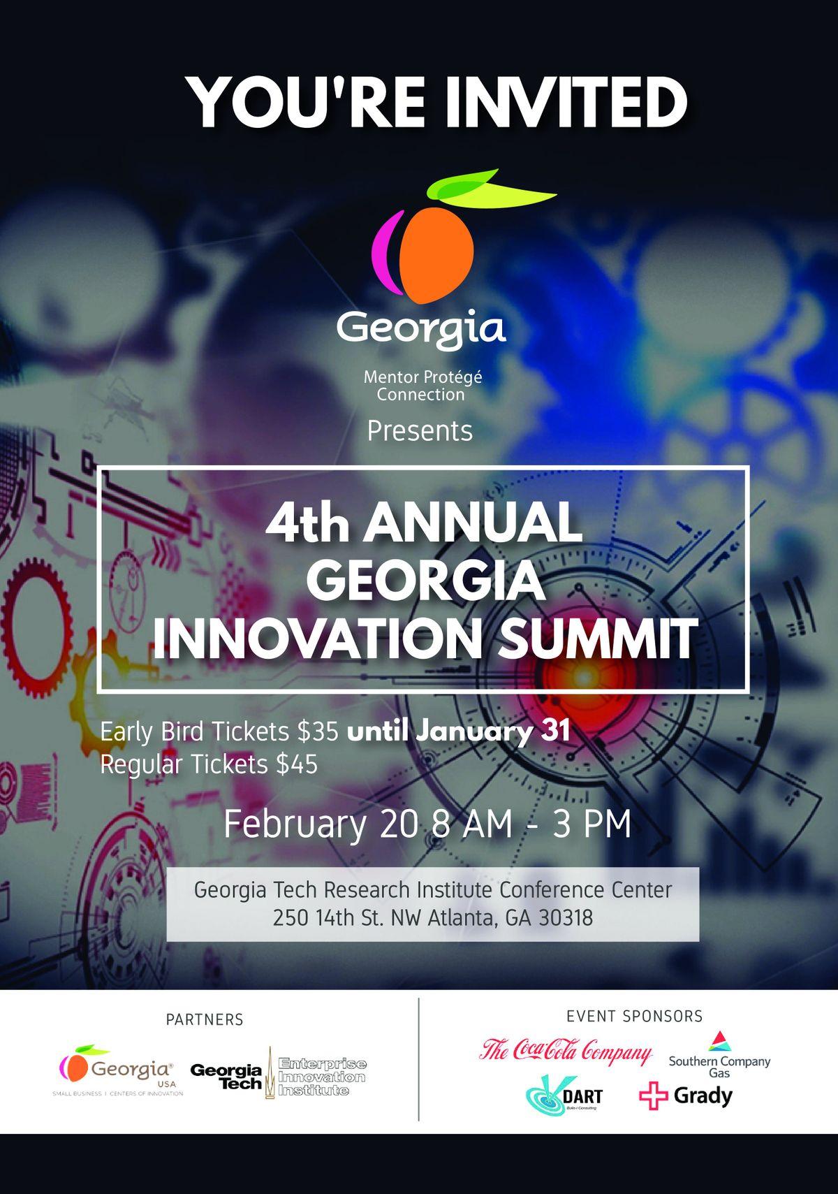 4th Annual Georgia Innovation Summit 2019