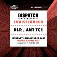 DLR &amp Ant TC1 (Dispatch Recordings) Christchurch