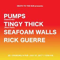 DEATHTOTHESUNpresents Pumps TingyThick SeafoamWalls RickGuerre