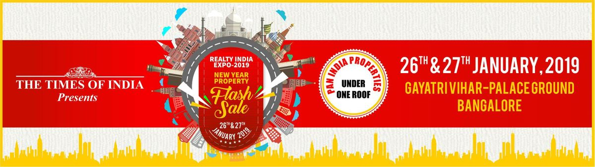Realty India Expo -2019 New Year  Property Flash Sale