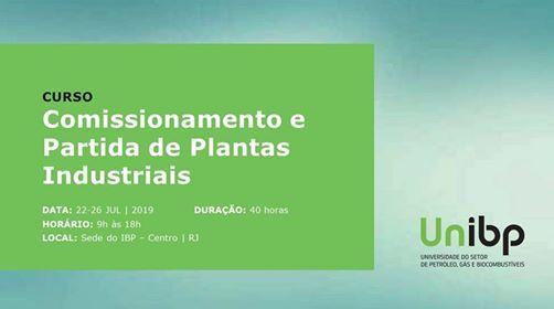 Comissionamento e Partida de Plantas Industriais