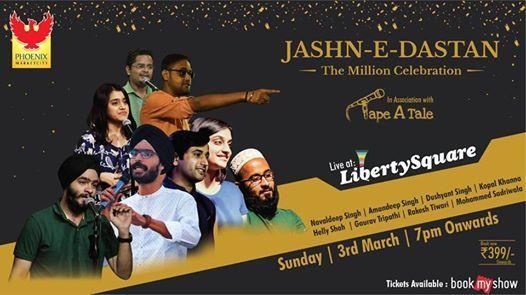 Jashn-e-Dastan  The Million Celebration by Tape A Tale