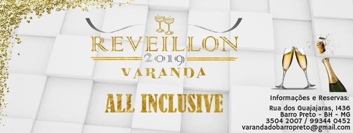 Reveillon Varanda 2019 All Inclusive