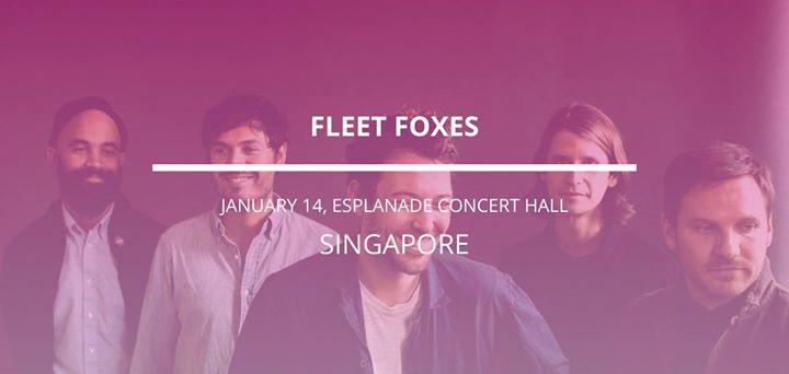 Fleet Foxes in Singapore