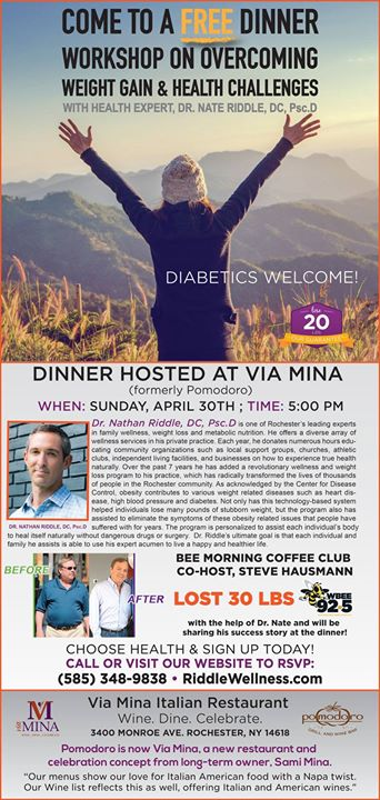 Overcoming Weight Gain And Health Challenges At Via Mina Pittsford