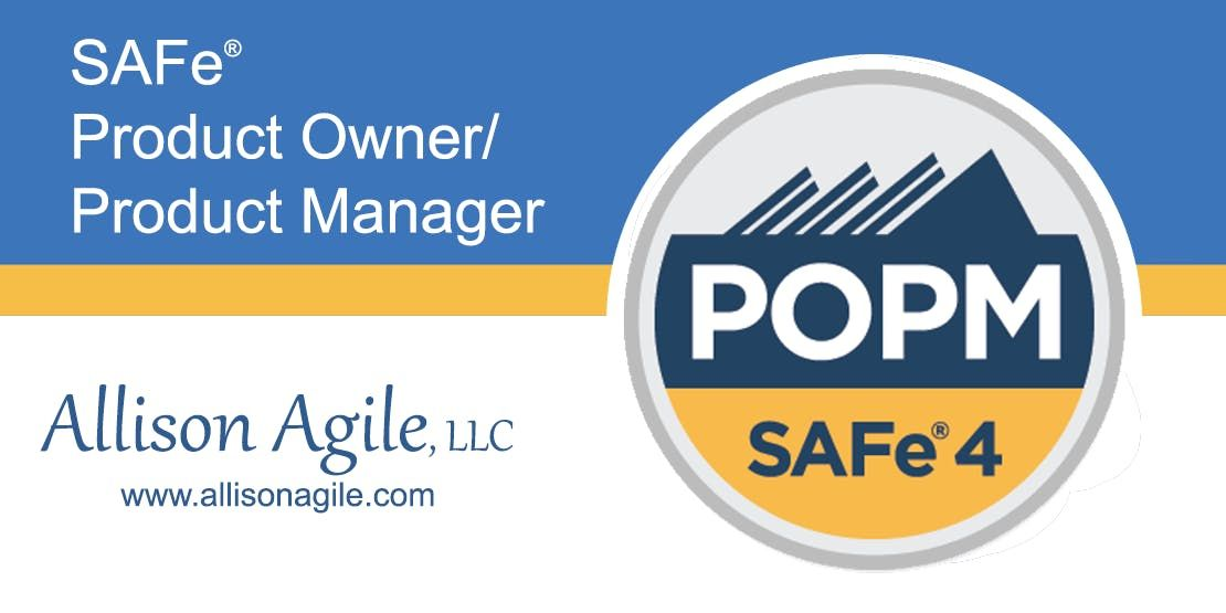 (WILL RUN) SAFe 4.5 Product OwnerProduct Manager Cert - San Antonio TX