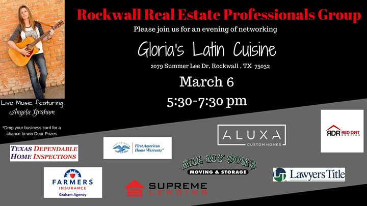 Rockwall real estate professionals group at glorias latin cuisine rockwall real estate professionals group reheart Image collections