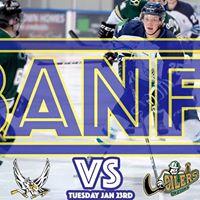BANFF GAME - Canmore Eagles vs. Okotoks Oilers